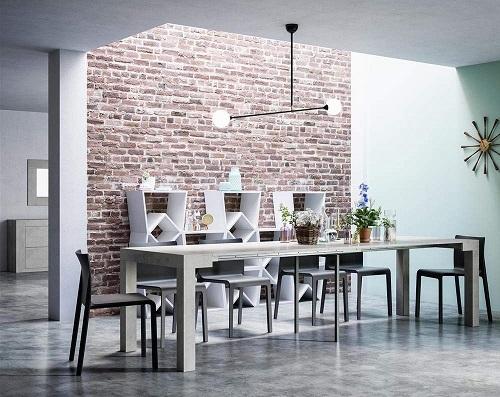 mejor mesa consola extensible blanca ofertas