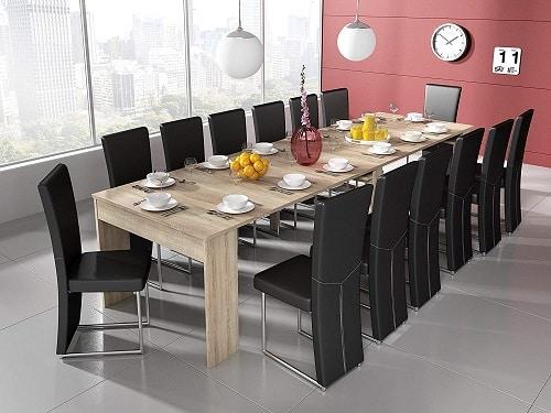ofertas mesa consola extensible 12 comensales comprar