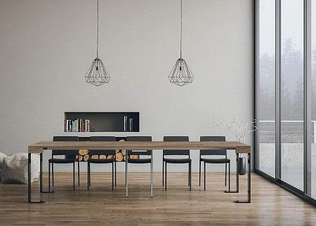 mesa comedor consola extensible 14 comensales ofertas