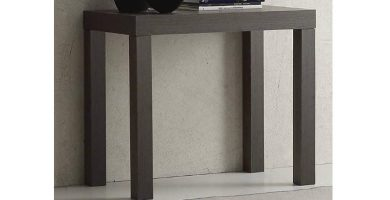 Mesa Consola Extensible Wengue